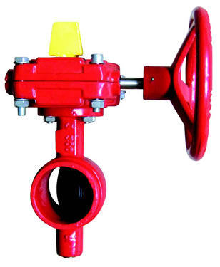 UL / FM Butterfly Valve – Grooved Ends
