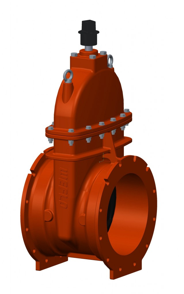 Ul Fm Large Diameter Resilient Seated Gate Valves Mj X Mj