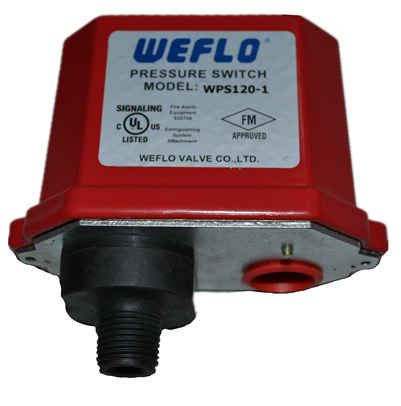 UL / FM Pressure Switch