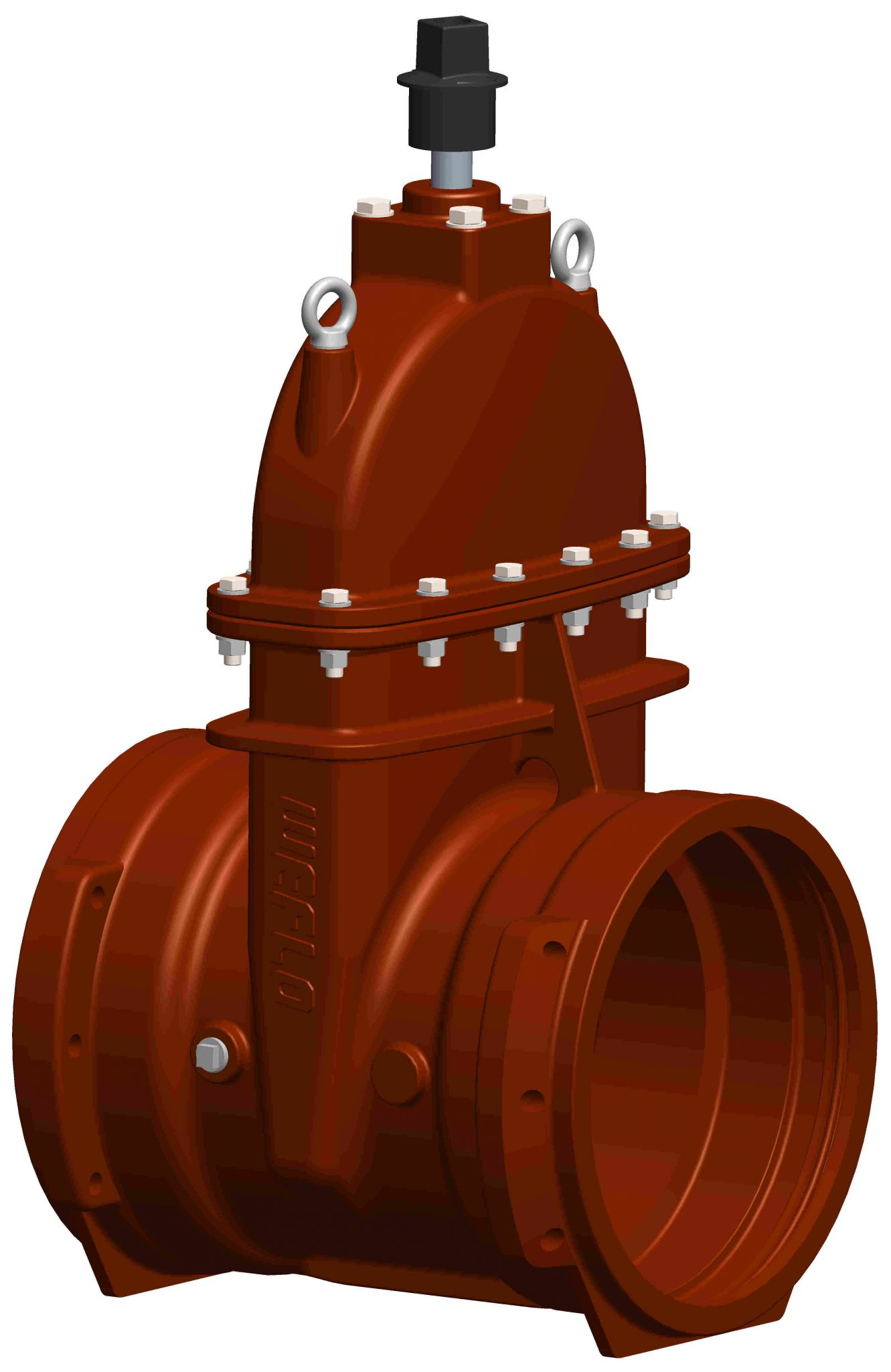 Ul fm awwa large diameter resilient seated gate valves